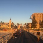 Glenelg. The longest palindromic named seaside town?